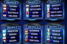 Mundial 2014: Fixture de los partidos para mañana sábado 21 de junio (Hora peruana)