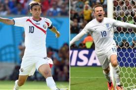 Minuto a minuto Costa Rica vs Inglaterra (0-0) – Mundial Brasil 2014 – ATV En Vivo