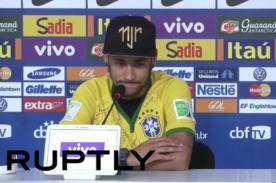 Neymar llora al recordar la lesión que lo sacó del Mundial 2014 [VIDEO]