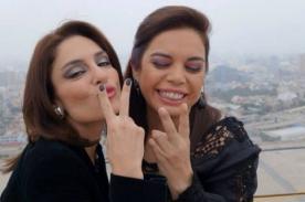 Mávila Huertas y Milagros Leiva posan como 'Las Vengadoras' [FOTO]