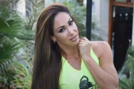 Melissa Loza le recuerda a Peluchín que también habló de su hija
