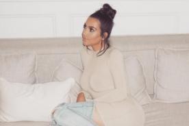 Kim Kardashian se quita todo en infartante selfie