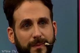 Peluchín se emocionó hasta las lágrimas por sorpresa de su novio - VIDEO