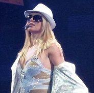 Concierto de Britney Spears en Londres no tuvo mucho público