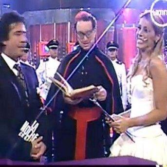 Viviana Rivas Plata ensaya su próxima boda en La Noche es Mía