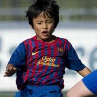 Messi japonés la rompe en el Barcelona
