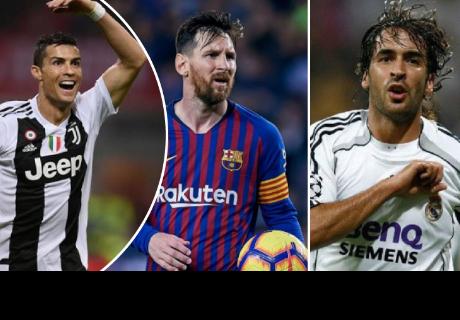 Los 5 futbolistas que han anotado más de 60 goles en competiciones europeas