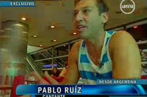 Pablito Ruiz: Antes me decían sidoso