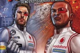 F1: Jenson Button y Lewis Hamilton tienen su propio cómic