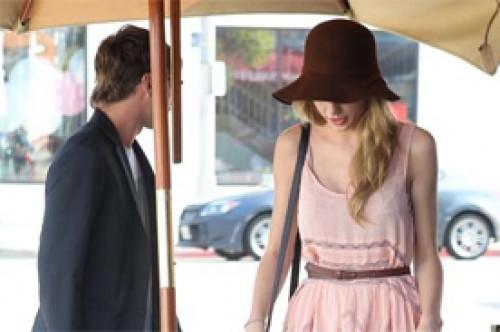 Taylor Swift tuvo una cita con el líder de Foster the People (Fotos)