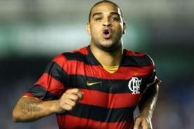 Brasileirao: Adriano fue contratado por el Flamengo
