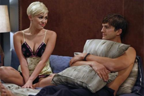 Miley Cyrus disparó el rating de Two and Half Men como la sexy 'Missi'