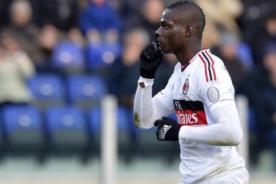 Serie A: Inter de Milán multado por coros racistas contra Mario Balotelli