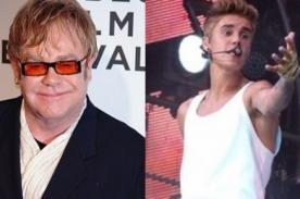 Elton John: No quisiera ser Justin Bieber