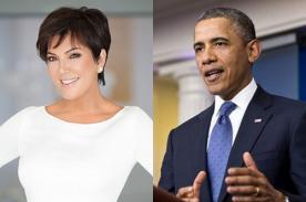 Kris Jenner defiende a Kim Kardashian de las críticas de Barack Obama