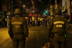 Video: Brutal pelea entre hinchas colombianos y chilenos tras partido