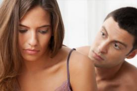 La frigidez: Mujer que sufre la ausencia de todo tipo de placer