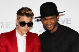 Usher sobre Justin Bieber: Si tienes más dinero, tienes más problemas