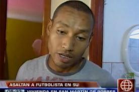 Futbolista de Unión Comercio fue asaltado horas antes de Navidad