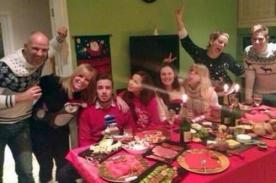 Fotos: Liam Payne recibió Navidad con familia de su novia Sophia Smith