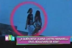 Liliana Castro Manarelli captada besando a nueva pareja - Video