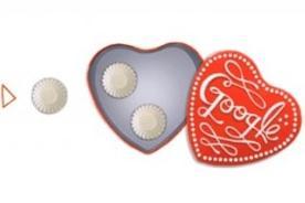 Google presenta nuevo doodle por San Valentín