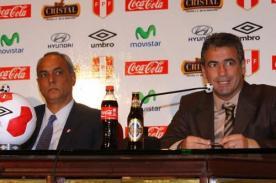 FPF: Pablo Bengoechea fue presentado como el nuevo técnico de la selección peruana - VIDEO