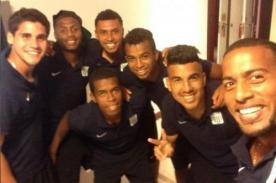 Alianza Lima vs. Sporting Cristal: Jugadores blanquiazules se sumaron a la moda Selfie
