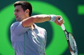 Masters de Miami: Novak Djokovic avanza a cuartos de final tras vencer a Robredo