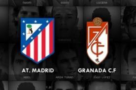Atlético de Madrid vs. Granada: Transmisión en vivo por GolTV - Liga BBVA