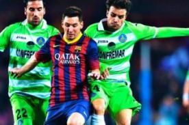 Liga BBVA: Video de goles partido de hoy Barcelona vs Getafe (2-2)