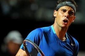 Rafael Nadal sigue firme en Roma.