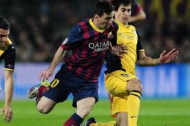Liga BBVA en vivo: Barcelona vs Atlético de Madrid por ESPN