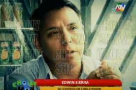 Edwin Sierra rompe su silencio: Milena Zárate fue la infiel [Video]