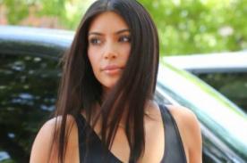 Kim Kardashian deja ver sus pezones con provocativa prenda [Foto]