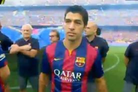 En vivo: Barcelona presenta plantilla para la temporada 2014 - 2015 - YouTube