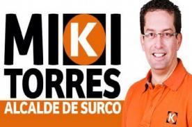 Miki Torres: Candidato de Surco regala vale de consumo en pollo a la brasa