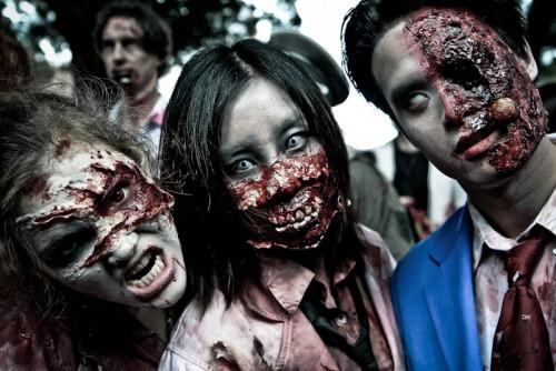 Disfraces de zombies inspirados en las series de televisión son los más buscados