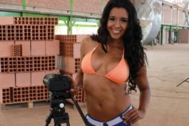 Rocío Miranda muestra sus encantos en fotos hot sin Photoshop