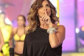 ¿Johanna San Miguel hizo el ridículo al coquetear a 'DJ choteador'? [VIDEO]