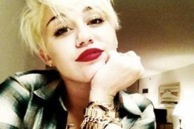 Miley Cyrus comparte foto en Instagram desnuda y drogada