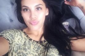 Facebook: ¡Stephanie Valenzuela imita polémico selfie de Kim Kardashian! - FOTO