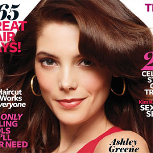 Ashley Greene luce glamorosa en portada de la revista InStyle Hair