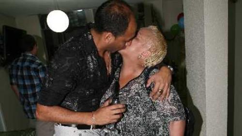 Foto: Lucía de la Cruz se besó con Rey de la Teleferia