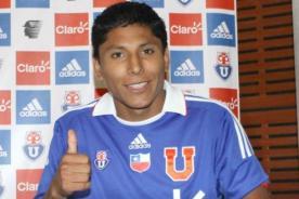 Raúl Ruidíaz quiere mostrarse en Chile antes de partir a Europa
