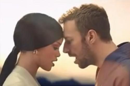 Video: Rihanna y Chris Martin protagonizan romance en Princess of China