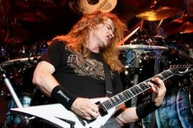 Vocalista de Megadeth culpó a Obama de las tragedias en EEUU