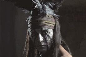 Fotos: Johnny Depp como 'Tonto' en 'El llanero solitario'