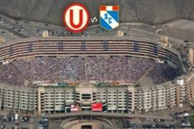 Fútbol Peruano: Indeci aprueba Monumental para el Universitario vs Cristal