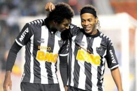 Brasileirao: Ronaldinho renovó con el Atlético Mineiro